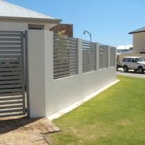 aluminium fence