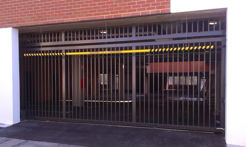 Security Gate for Garage 58