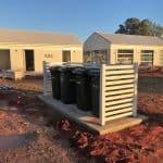Aluminium Slat Bin Enclosure