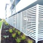 Aluminium Slat Building Enclosure