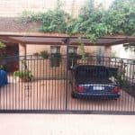 Wrought Iron Carport Sectional Door