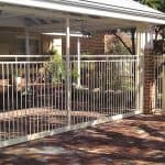 Tubular Carport Gate 183
