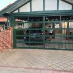Cottage Green Garage Door