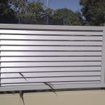 Slatted Louvre Infill Panel