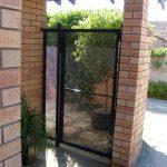 Perforated Mesh Gate