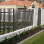 Aluminium Flat Bar Gate 19