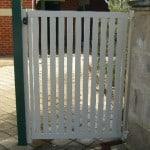 Aluminium Upright Slat Gate