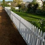 Aluminium Picket Fence 161