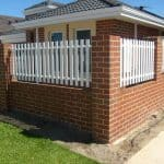 Aluminium Picket Infill Fencing 163