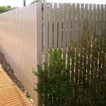 Aluminium Flat Top Picket Fencing 166