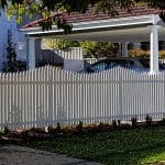 Concave Picket Fencing