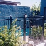 Diamond Top Pool Fence