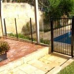 Glass and Straight Top Pool Fencing