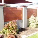 Slatted Infill Fencing 145