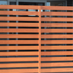 Aluminium Wood Look A Like Screen