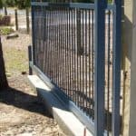 Flat Top Sliding Gate