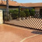 Diagonal Design Sliding Gate