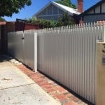 Aluminium Picket Sliding Gate