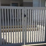 Aluminium Flat Bar Swing Gate