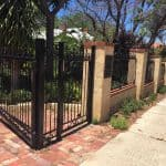 Wrought Iron Swing Gate