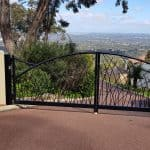 Custom Designed Double Swing Gates