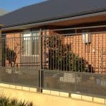 Flat Top Fencing with Grill 95