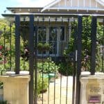 Wrought Iron Pedestrian Gate 69