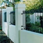 Wrought Iron Level Spear Fencing 78