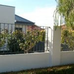 Wrought Iron Infill Fencing Opposite Design 84