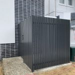 Vertical Slat Enclosure